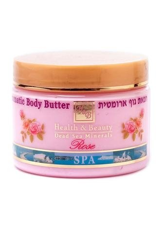 Dead Sea Cosmetics - Marelin Cosmetics - Aromatic Body Butter - rose