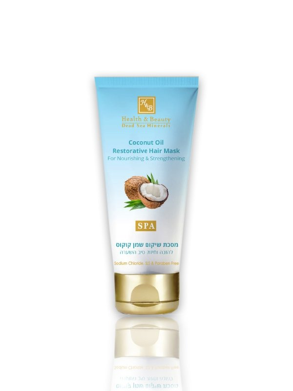 Dead Sea Cosmetics - Marelin Cosmetics - Coconut Oil Restorative Hair Mask For nourishing and hair f