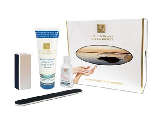 Dead Sea Cosmetics - Marelin Cosmetics - Luxury Mineral Nail Treatment Kit