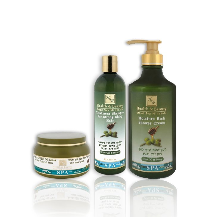 Dead Sea Cosmetics - Marelin Cosmetics - Olive Oil & Honey