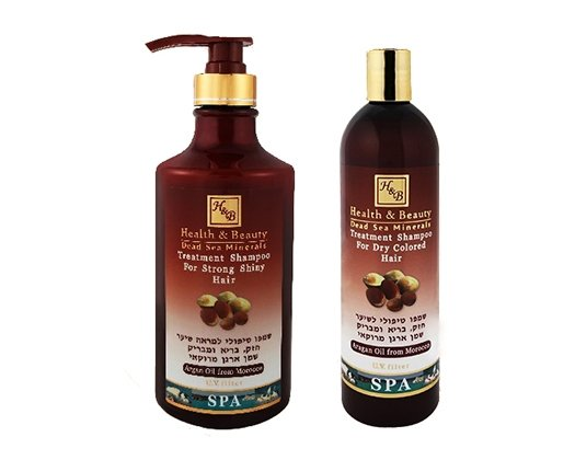 Dead Sea Cosmetics - Marelin Cosmetics - Argan Treatment Shampoo for Strong Shiny Hair