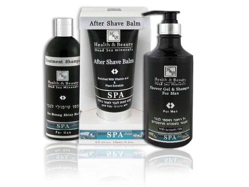 Dead Sea Cosmetics - Marelin Cosmetics - Bath set men