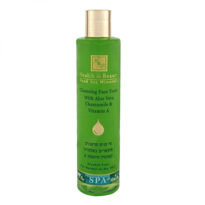 Dead Sea Cosmetics - Marelin Cosmetics - Cleansing Face Tonic with Aloe Vera, Chamomile & Vitamin A