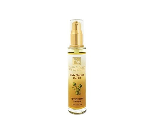 Dead Sea Cosmetics - Marelin Cosmetics - Hair Serum with Flax oil