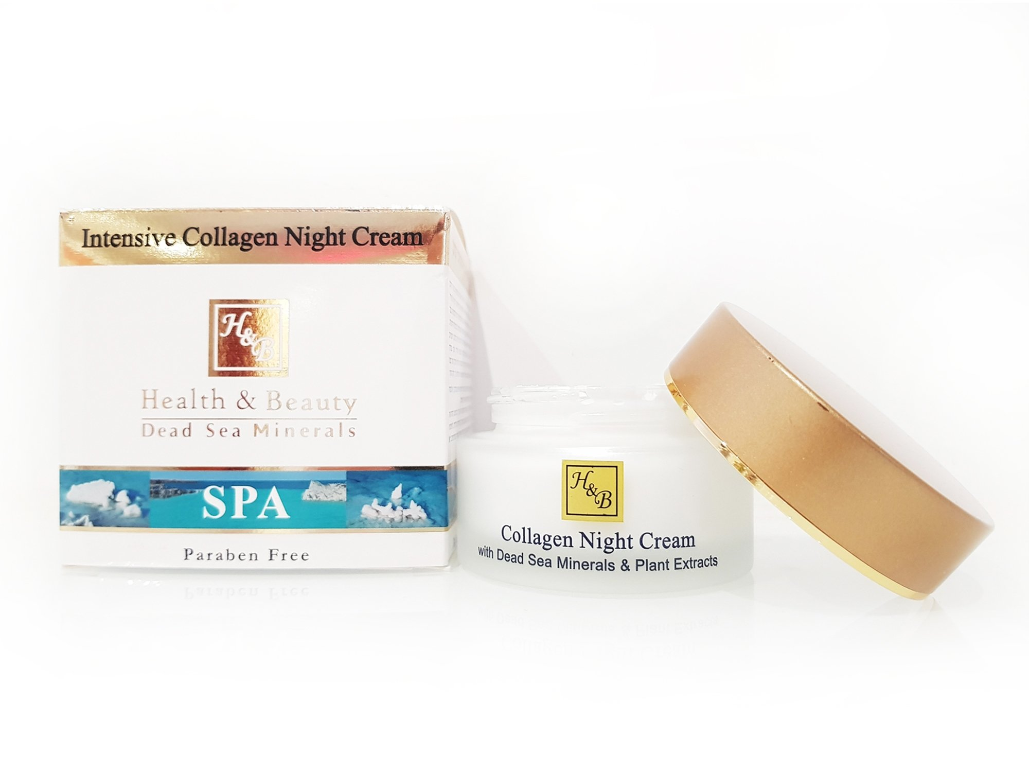 Dead Sea Cosmetics - Marelin Cosmetics - Intensive Collagen Night Cream