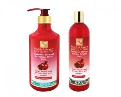 Pomegranates extract Shampoo for Strong Shiny Hair